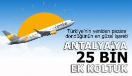 Öger Tours'dan sevindiren Antalya haberi