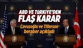 Türkiye-ABD ortak deklarasyonu açıklandı