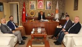 AK Parti Antalya'da omuz omuza verdi