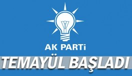 AKP Antalya il başkanlığı için temayül