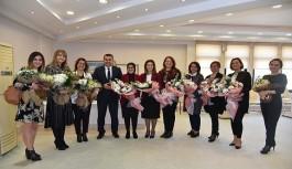 Alanya'daki kadınlar, belediyenin organizasyonuyla buluşuyor