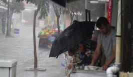 Alanya'ya 58 kilogram yağış düştü