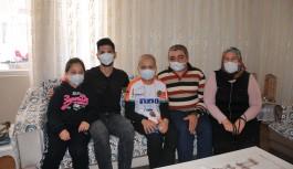 Alanyaspor'un milli futbolcusundan duygulandıran sürpriz