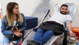ALKÜ'lü Tıp fakülteleri kan bağışı yaptı