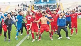 Antalya'da Amatör Lig'in şampiyonu Konyaaltı
