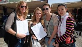 Antalya'ya gelen turist sayısı yüzde 30 arttı