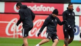 Beşiktaş, Alanyaspor maçı hazırlıklarını sürdürdü