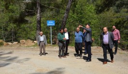 Alanya'nın kırsal yollarına standart