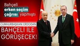 Bahçeli'nin erken seçim çağrısı sonrası Erdoğan'dan flaş sözler