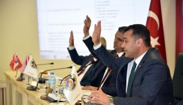 Başkan Yücel'in faaliyet raporu onaylandı