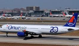 Onur Air, Antalya-Rusya hattına 606 uçuş ekledi