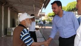 AK Parti heyeti Konaklı'da ilgiyle karşılandı