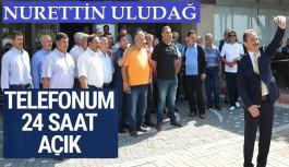 Nurettin Uludağ'a muhtar desteği