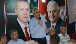 Ak Parti'li Aydın, büyük ilgi görüyor
