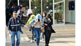 Alanya'da fuhuşa 5 tutuklama