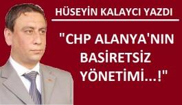 Kalaycı: Kılıçdaroğlu, Alanya'ya 9. sırayı çok bile vermiş...!