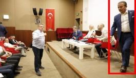 MHP Antalya'nın ithal 1. sıra adayı toplantıyı terk etti
