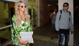 Paris Hilton, Antalya'ya Geldi