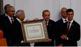 Erdoğan'dan ilk açıklama: 'Hayırlı olsun, Başkan diyebilirsiniz'