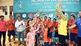 Futsal'da şampiyon spor işleri müdürlüğü