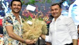 Alanya'da Mahmutlar Şairler Parkı Açıldı