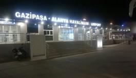 Alanya-Gazipaşa havalimanında büyük artış