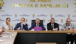 Ak Parti Antalya'da yerel seçim toplantılarına başladı