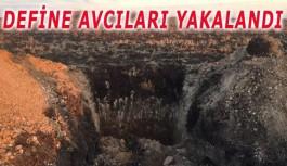 Akseki'de Define Avcıları Suçüstü Yakalandı
