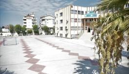 Alanya belediyesinden okul bahçelerine düzenleme