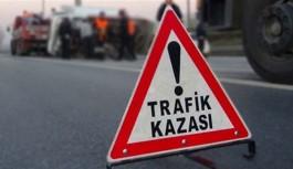 Halk otobüsünün çarptığı turist yaralandı
