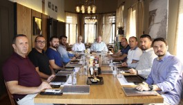 ALTSO'nun bütçe toplantısı Coffee Conpanna'da