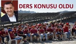 Başkan Yücel idaresindeki Alanya belediyesi, öğrencilere ders konusu oldu