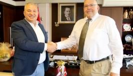 """Letonya Büyükelçisinde Altso Başkanı Şahin""""e övgü"""