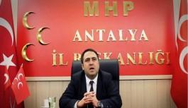 MHP Antalya il başkanı yerel seçimlerle ilgili konuştu