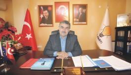 Ak Parti Gazipaşa ilçe başkanı atandı