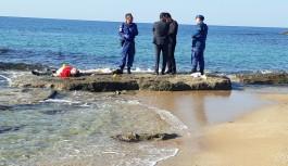 Tatil için geldiler denizde boğuldular