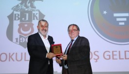 Beşiktaşlı yöneticiler Alanya'da panele katıldı