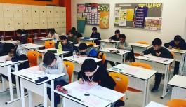 İsabet okullarının sınavına katılım yüksekti