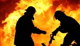 Alanya'da öğrenci evinde yangın...