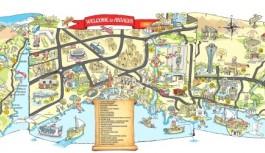 Alanya turizmi için karikatürlü harita!