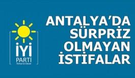 Antalya'daki istifaların gerekçeleri...