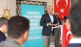 Bakan Çavuşoğlu, MHP'lierle buluştu!