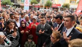 Cumhur ittifakı kadınların seçim ofisi açıldı