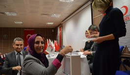 Türk kızılay derneği, Alanya'da kongresini yaptı
