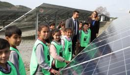Alanya belediyesi, güneş enerji santrali öğrencileri ağırladı!