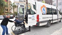 Alanya belediyesinden seçimde engelli vatandaşlar için büyük hizmet!