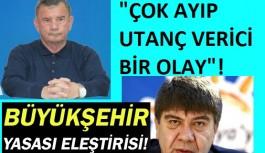 Alanya'dan, Antalya büyükşehir belediyesine çok sert eleştiri!