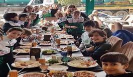 Alanyalı sporcular başarılarını yemekte kutladı