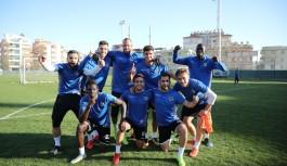 Alanyaspor'da hazırlık maçı...