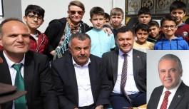 Başkan Yücel, Türktaş okulunda...
